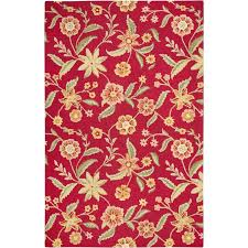 Round Red Rug Yellow And Red Area Rugs Rug Designs