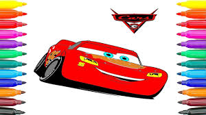 how to coloring cars 3 learning coloring pages lightning mcqueen