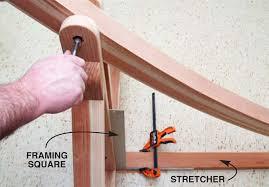 hammock stand popular woodworking magazine