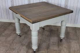 Victorian Pine Extending Scrub Top Kitchen Dining Table - Victorian pine kitchen table