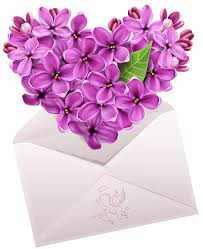 valentine letter with flower heart png clipart gallery