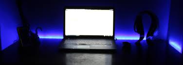 Laptop Desk With Led Light Torchstar Led Lights Desk Setup Unboxing Review