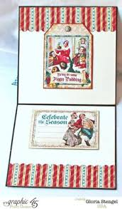a christmas carol gift card holder by joanne click to see