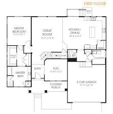 vanessa utah two story home floor plan edge homes