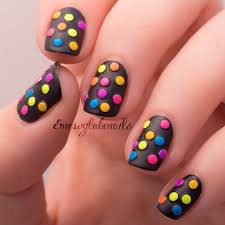 coming up with stylish funky nail designs be modish