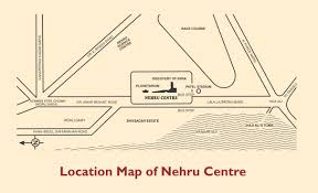 Mumbai India Map by Nehru Centre Nehru Centre Mumbai