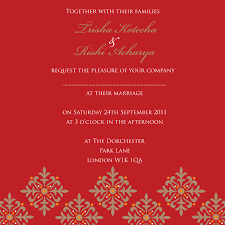 marriage invitation wording india wedding invitation mail india matik for