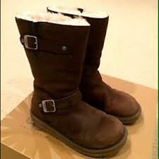 womens ugg motorcycle boots 70 ugg boots ugg kensington sn leather 5679 size 7
