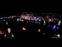 rhema lights drone footage bible college lights