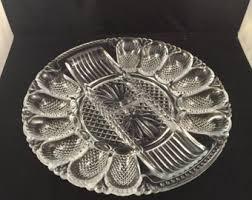 glass egg plate egg plate etsy