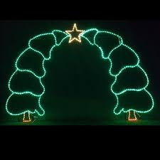 Commercial Christmas Star Decorations by Led Outdoor Christmas Decorations Lighted Commercial Displays