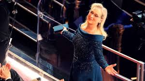 Blue Ribbon Carpet Oscars Red Carpet What Meryl Streep Finally Wore U2013 And The Reason