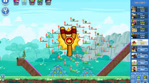 angry birds friends tournament week 256 1 level 2 youtube
