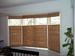 window treatments for bay windows in dining room home design