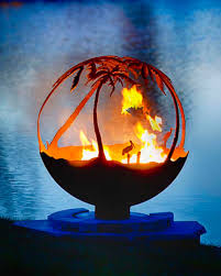 Fire Pit Globe by Fire Pit Sphere Another Day In Paradise The Fire Pit Gallery
