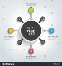 circle infographic template round net diagram stock vector circle infographic template round net diagram graph presentation chart