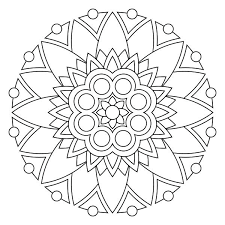 om mandala coloring pages mandala to color tags free printable mandala to color printable