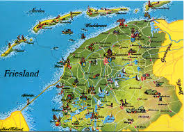Map Netherlands Netherlands Remembering Letters And Postcards