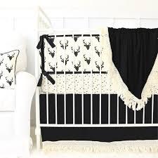 Black And White Crib Bedding For Boys Boy Crib Bedding Sets Caden