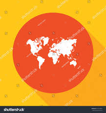 World Map Icon by World Map Icon Stock Vector 419314006 Shutterstock