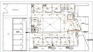 health center 2d dwg full project with topographic survey for