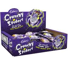 crunchy chocolate crunchy spiders x 26 halloween cadbury gifts