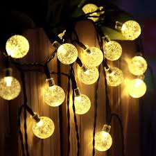 Outdoor Garden Lights String Decoration Outdoor Patio String Lights Commercial Outdoor Clear