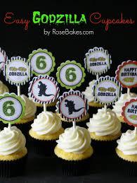 godzilla cake topper behance