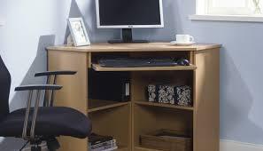 Blue Computer Desk Computer Wall Shelves Corner Lewtonsite