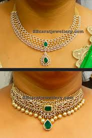 diamond sets design diamond necklaces on sale jewellery designs
