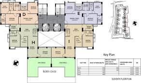 Floor Plan Of Bank by Srijan Eternis By Srijan Realty In Madhyamgram Kolkata Price