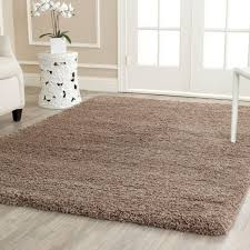 Black Round Area Rugs by Safavieh California Shag Taupe 11 Ft X 15 Ft Area Rug Sg151 2424