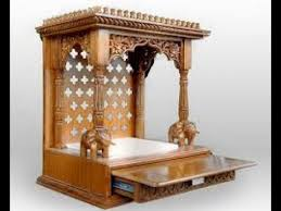 Pooja Room Woodwork Designs