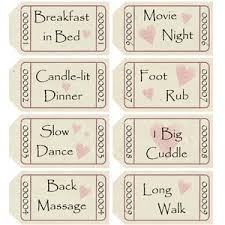 printable romantic gift certificates best homemade boyfriend gift ideas romantic cute and creative