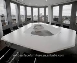 Western Conference Table Solid Surface Western Design High End Luxury Modern Conference
