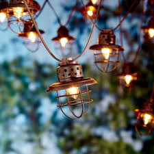 Despicable Me Christmas Lights by Better Homes And Gardens 10 Count Vintage Cage Lantern String