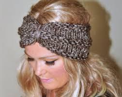 crochet ear warmer headband knit ear warmer headband pattern crochet and knit