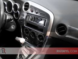 pontiac vibe 2003 2008 dash kits diy dash trim kit