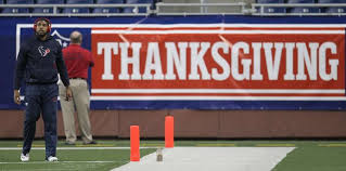 ten unforgettable nfl moments from thanksgivings past houston