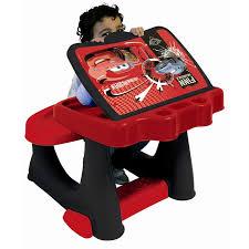 bureau plastique enfant disney cars bureau enfant d activité set de coloriage achat