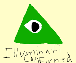 Illuminati Memes - hide your name in a drawing of ladders