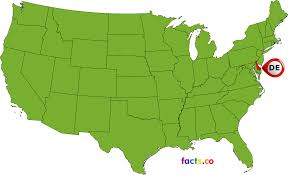 Maps De Usa by Delaware Location On The Us Map Reference Map Of Delaware Usa