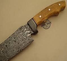 new damascus chef u0027s knife custom handmade damascus steel kitchen