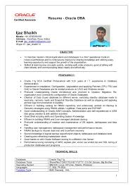 Sample Resume India by Astounding Design Oracle Dba Resume 4 Oracle Dba Resume Samples