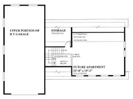 Rv Garage Floor Plans Rv Garage Plans Rv Garage Plan With Future Apartment Design