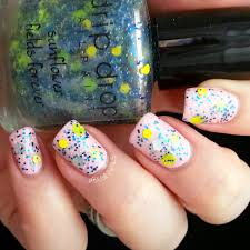 let u0027s begin nails drip drop nail paint fight like a boo