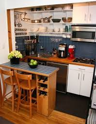 Studio Flat Cupboard Kitchen Small Smart Solutions For Small Cool Kitchens Student Apartment Tiny