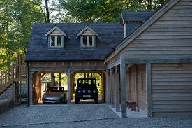 garages with rooms above border oak oak framed houses oak