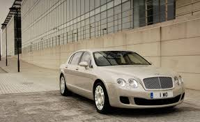 bentley continental flying spur rear 2009 bentley continental flying spur car news news car and