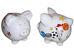 piggy bank favors ceramic piggy bank cg018 24 95 favor it personalized